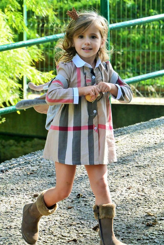 Mini Missbaby con botas Clarys