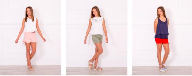 outfits ropa niña verano 2018