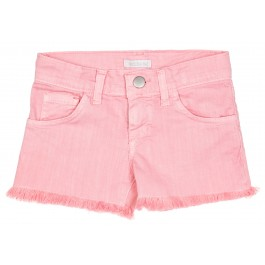 Short Niña Denim Rosa