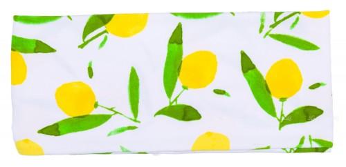Dadati Turbante Estampado Limones Verde & Amarillo