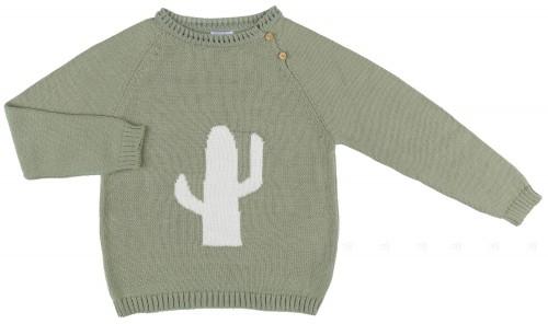 Ancar Jersey Niño Punto & Cactus Verde