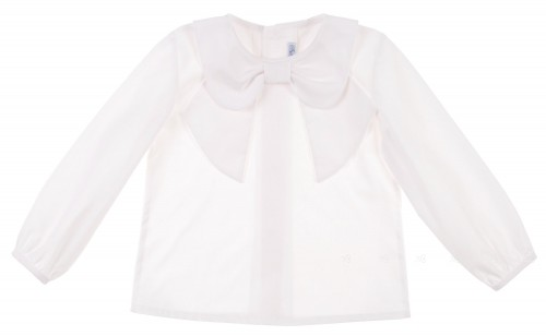 Camisa Cuello Lazo