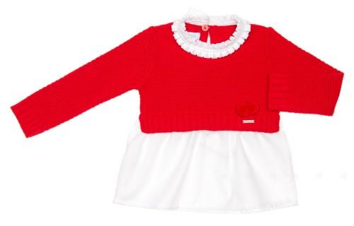 Jersey Camisa Rojo & Blanco Colección Diamond