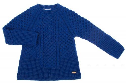 Jersey Punto Azul & Swarovski Elements