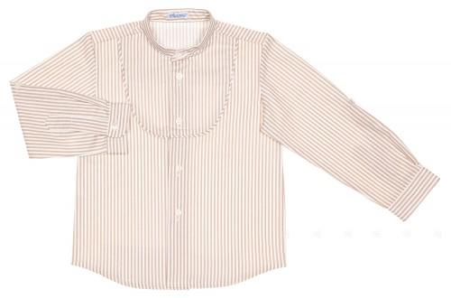 Camisa Niño Rayas Beige