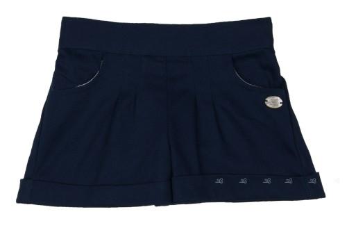 Short Bolsillos Sarga Azul Marino