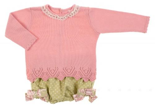 Conjunto jersey & short colección Porcelana