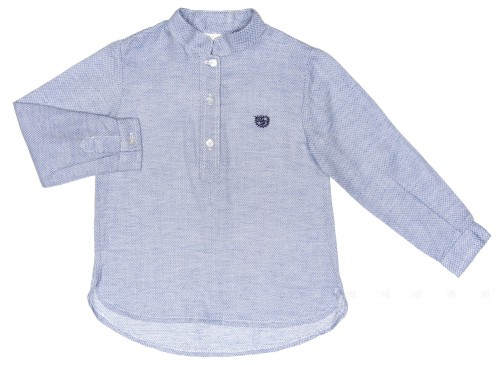 Camisa Niño Marino Claro
