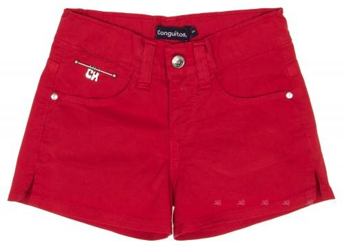 Short 5 bolsillos Rojo