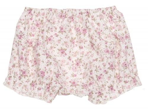 Short Estampado Floral Rosa