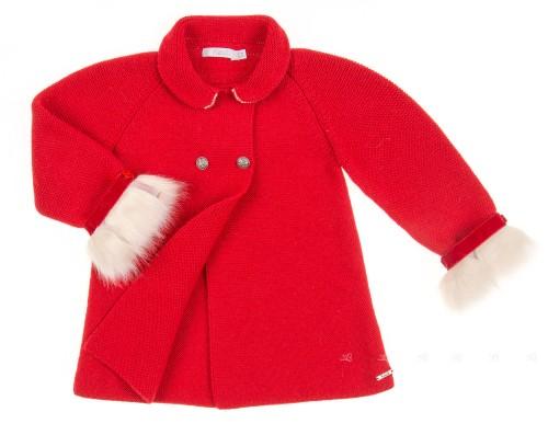 Abrigo Punto Rojo Colección Góndola