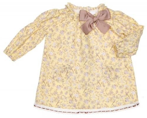 Vestido Floral Pajarito