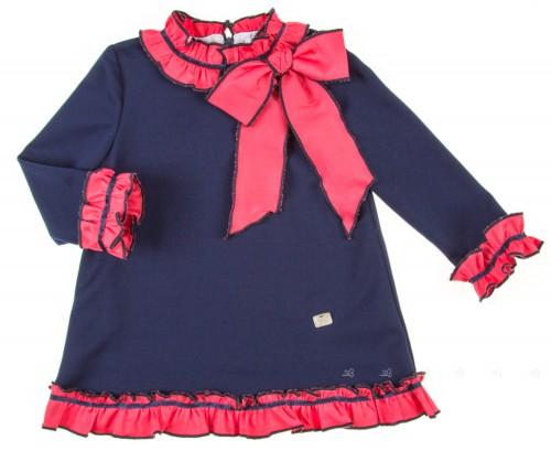 Vestido Punto Marino & Coral (Reservas)
