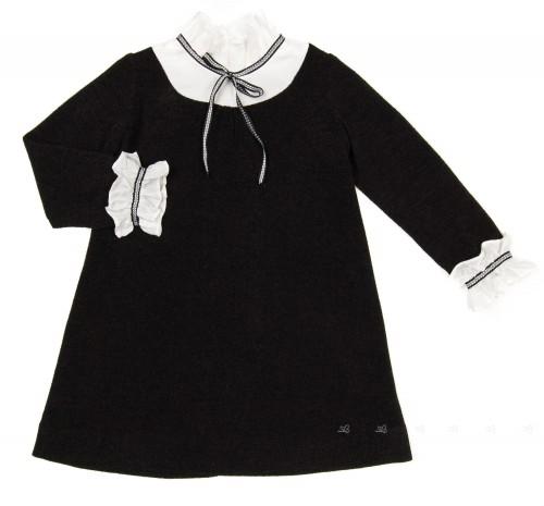 Vestido Punto Negro & Blanco