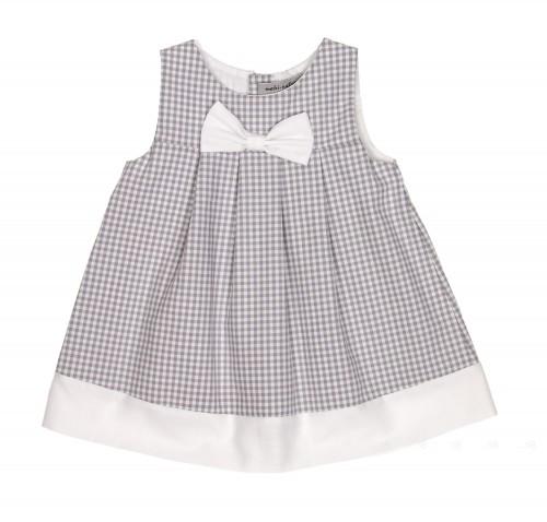 Vestido Vichy Lazo