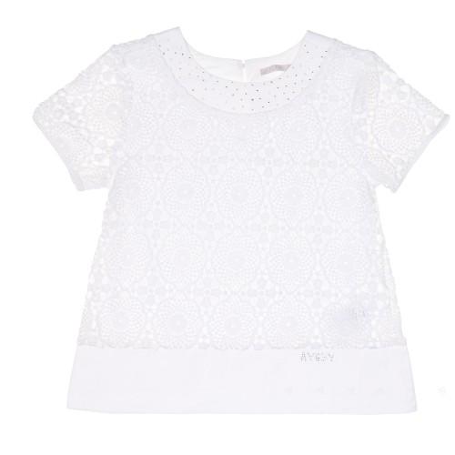 Blusa Encaje Blanco