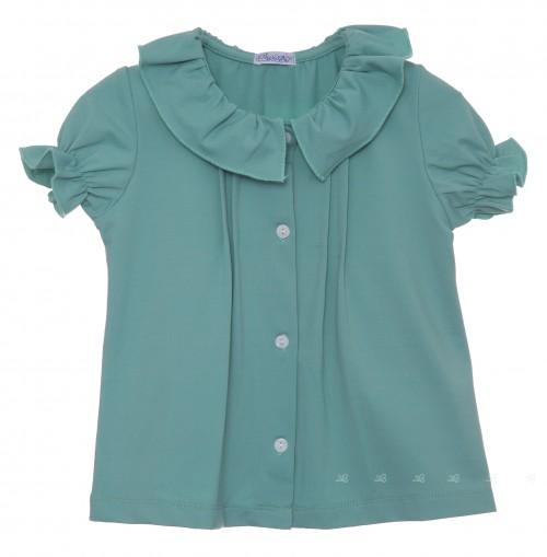 Blusa verde agua