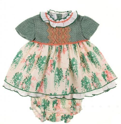 Conjunto vestido y braguita colección Buganvilla