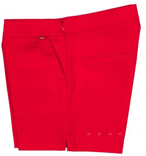 Byblos Short Niña Algodón Rojo