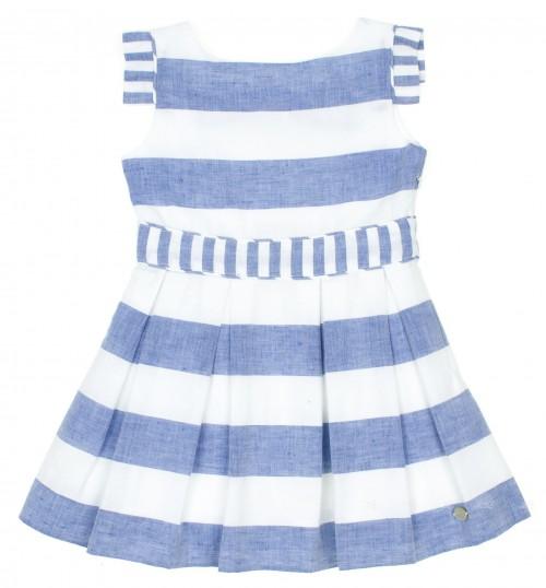 Vestido Colección Venecia | Rayas Azul & Blanco