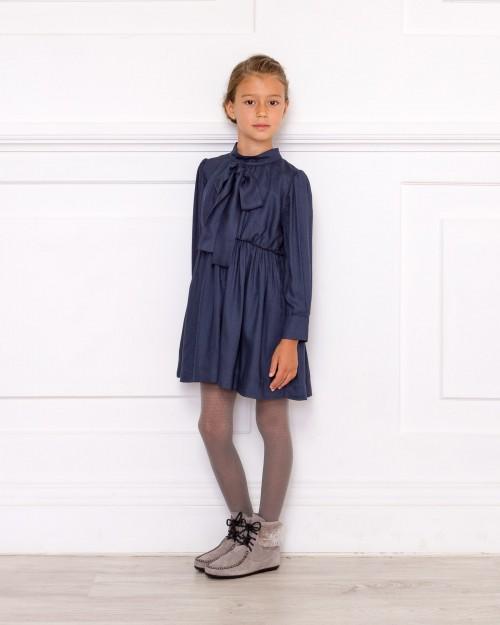 Vestido Anna Azul Noche