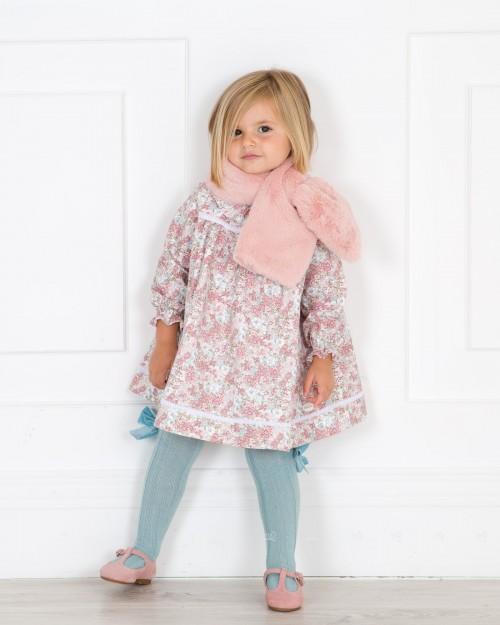 Outfit Estampado Floral & Calzas Menta