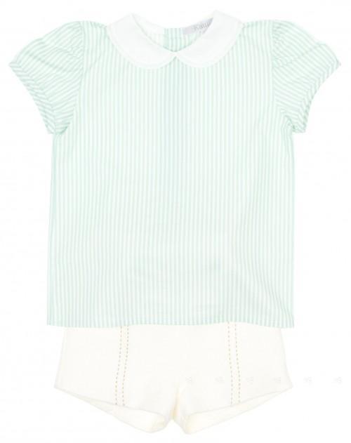 Conjunto Camisa y Short Pastelito