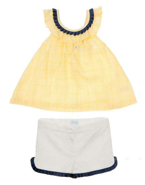 Conjunto marinero short