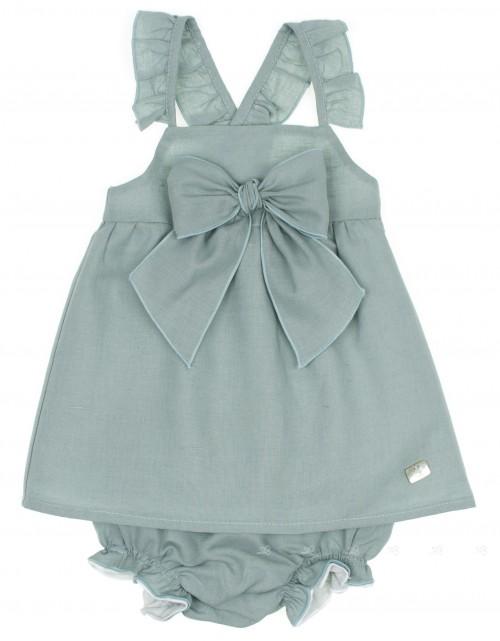 Conjunto vestido & Braguita Verde
