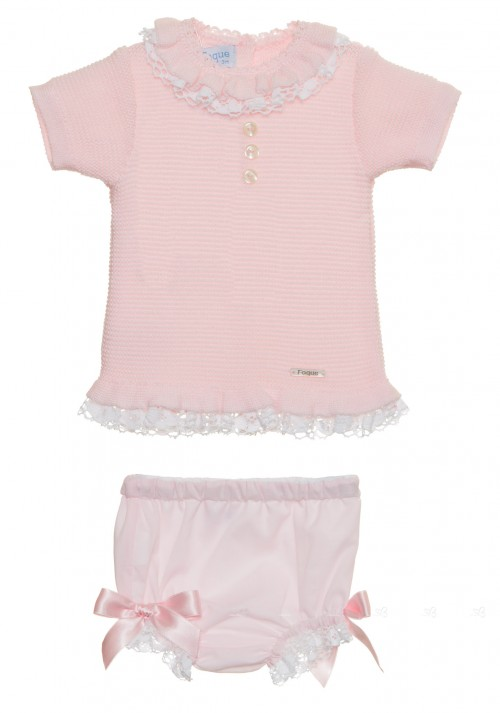Conjunto bebe rosa  Foque,verano 2015 compra online en Missbaby