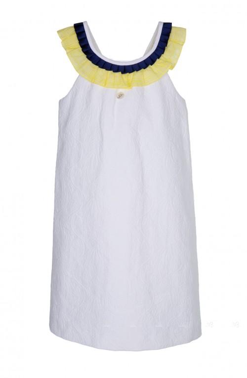 Vestido Foque Blanco Verano 2015