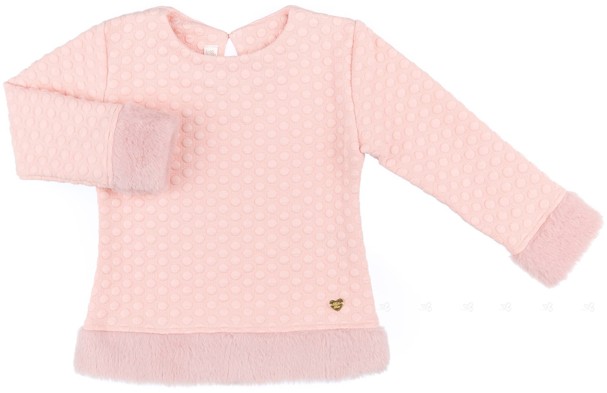 sudadera rosa dolce petit