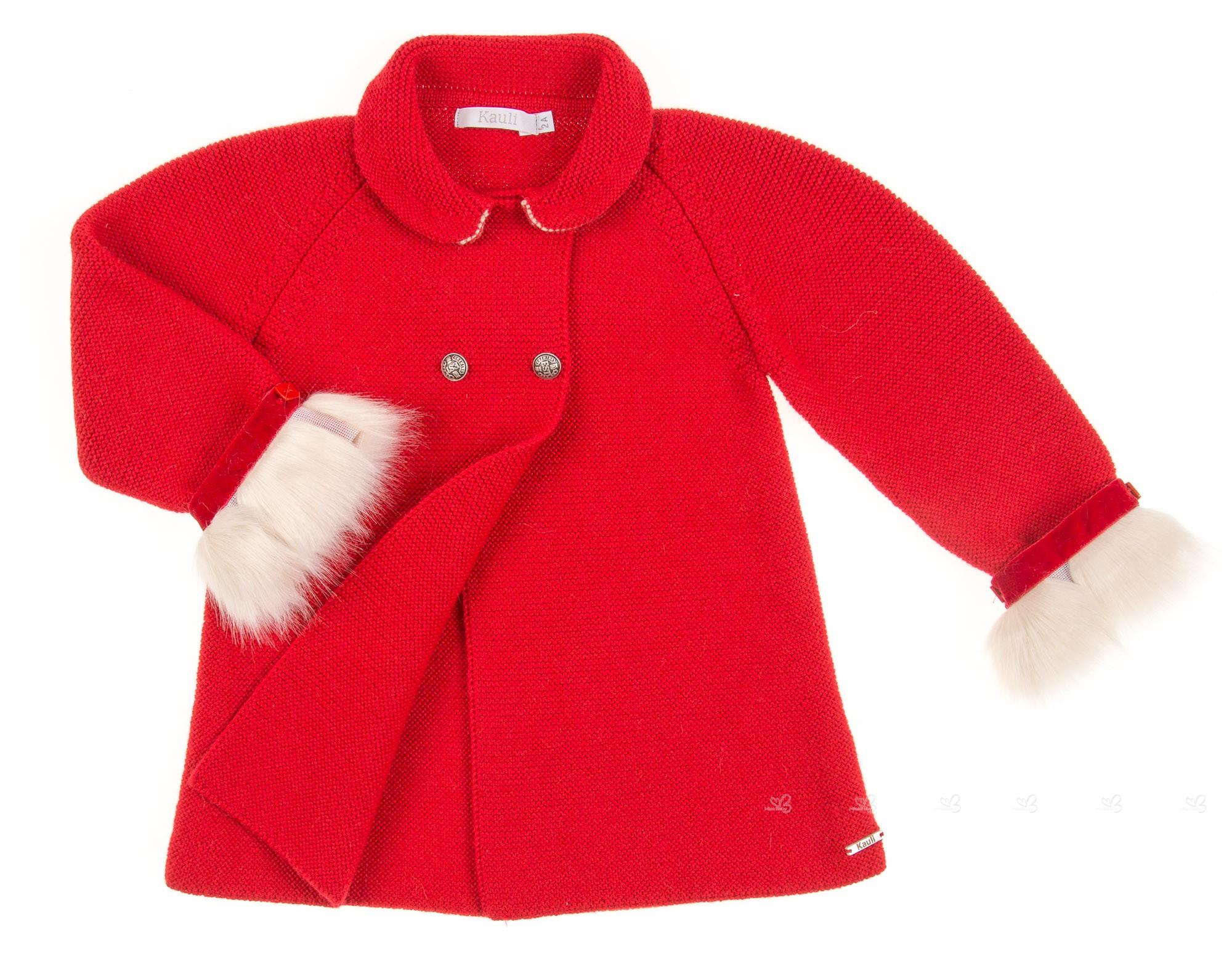 Coleccion Baño Punto Rojo:Abrigo Punto Rojo Colección Góndola
