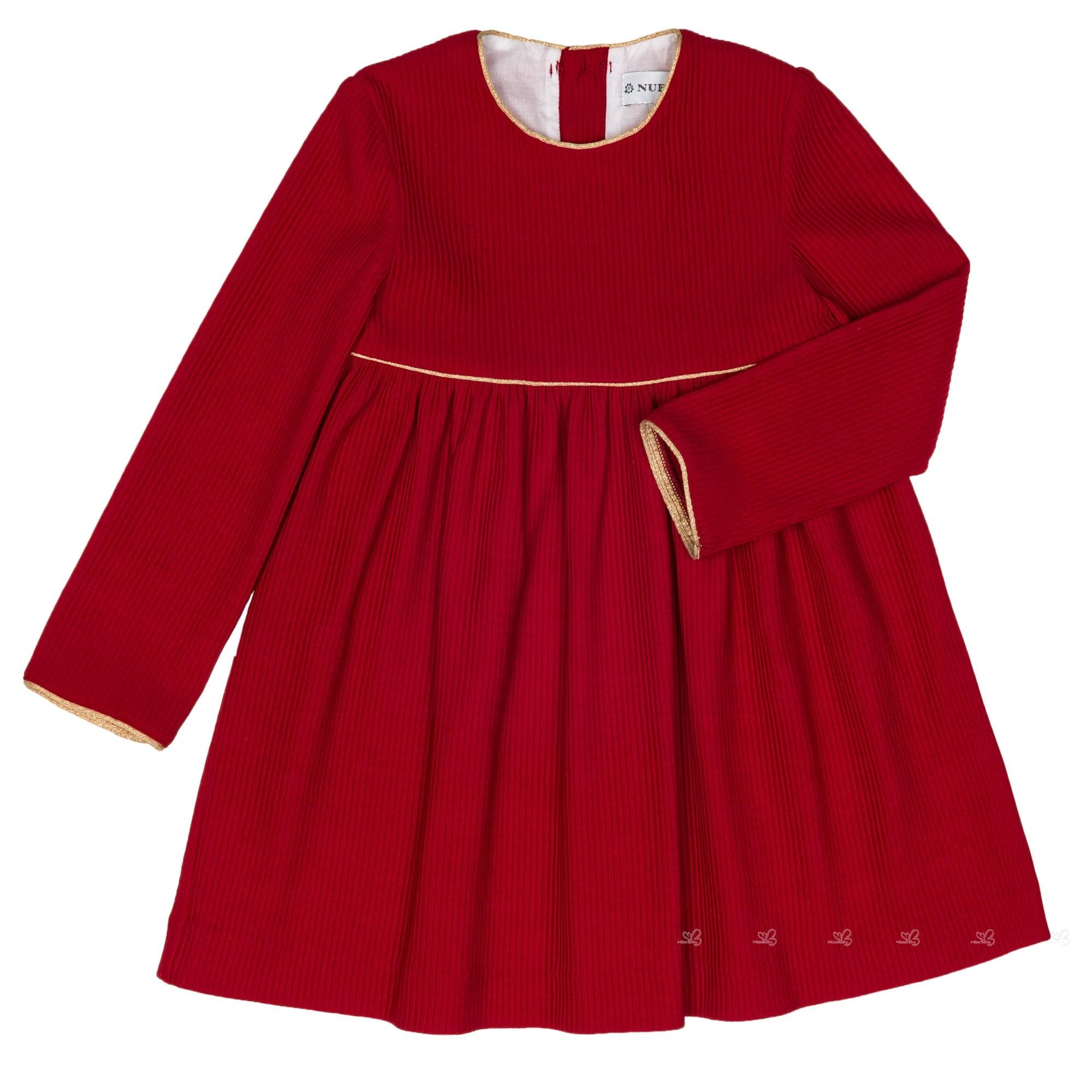 Vestido rojo 2018 indian