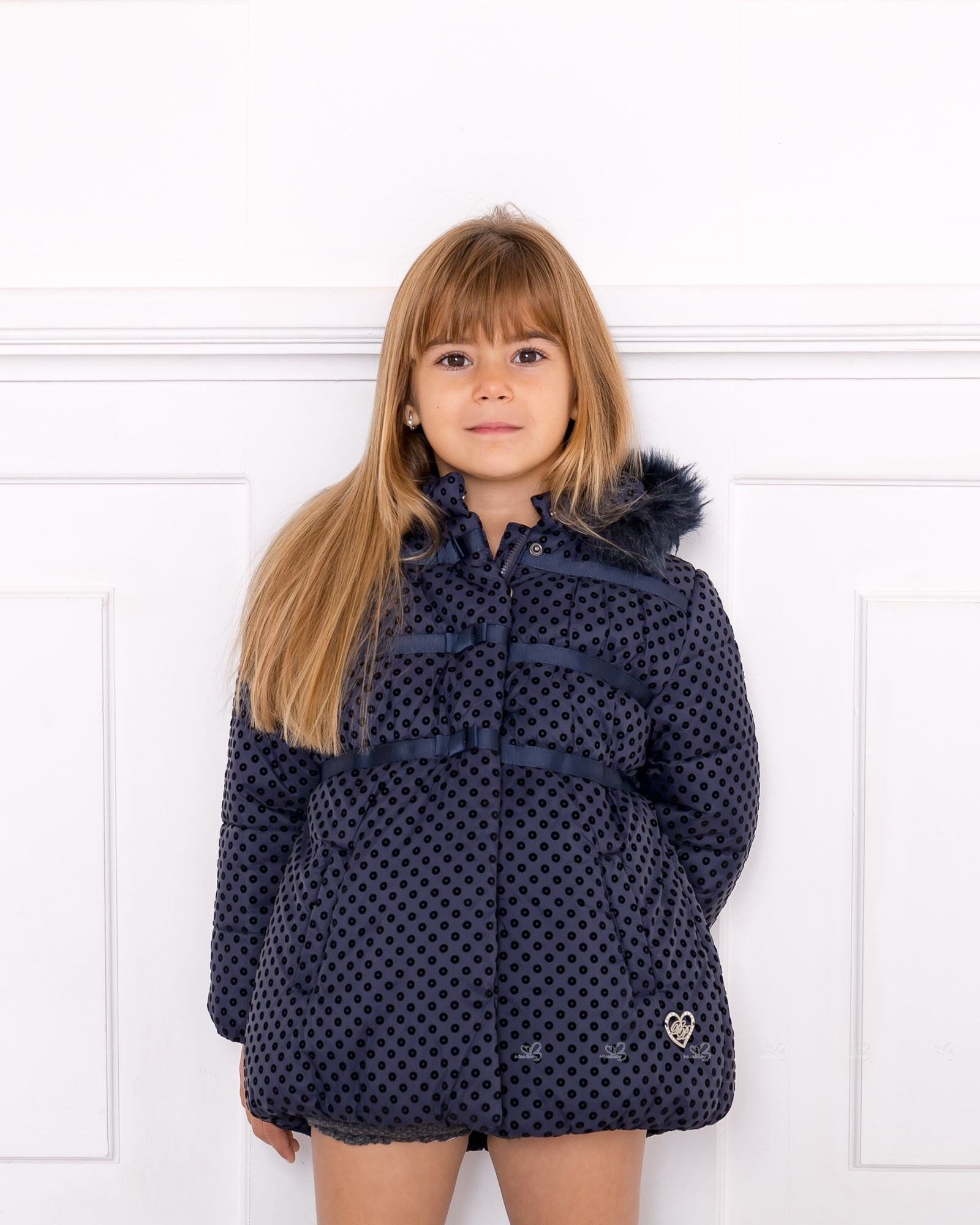 Abrigo azul dolce petit