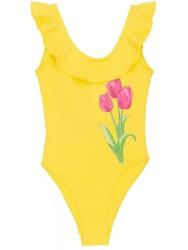 Bañador Niña Tulipán & Volante Amarillo