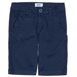 Short Bermuda Niño Algodón Azul Marino
