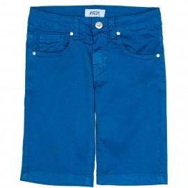 Short Bermuda Niño Algodón Azul