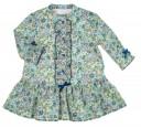 Vestido Floral Liberty & Swarovski Elements