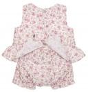 Conjunto vestido & short estampado floral rosa