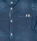 Camisa Niño Vaquera Cuello Mao