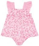 Baby Yiro Conjunto Niña Vestido Braguita Rosa