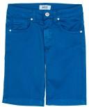 AYGEY Short Bermuda Niño Algodón Azul