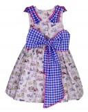 Vestido niña Foque estampado bicis Verano