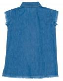 Camisa Niña Vaquera Denim Azul