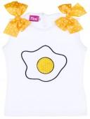 Nini Moda Infantil Conjunto Bebé Camiseta & Braguita Volante  Huevos