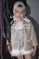 Conjunto Vestido,Braguita & Capota Colección Dulce