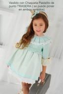 Vestido Pastelito | Verde Pastel & Tul