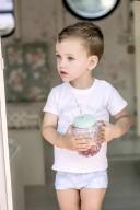Camiseta Bebé Niño Algodón Sunshine Blanco