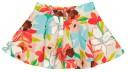 Falda Canvas Estampado Floral